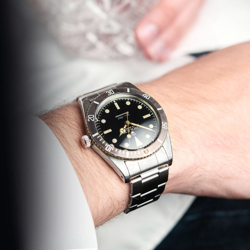 Rolex 5508 Small Crown Gilt Dial Submariner