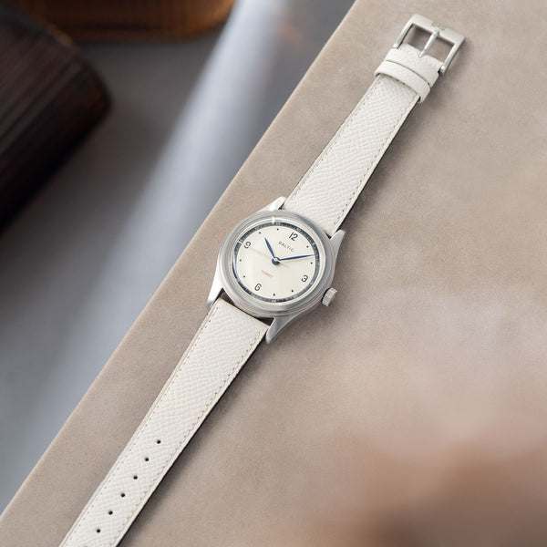 Sellier Marbre White Watch Strap