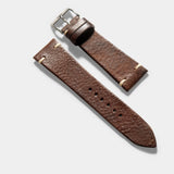 Lumberjack Brown Leather Watch Strap