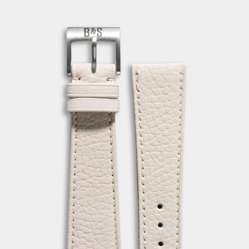 Taurillon Creme Speedy Leather Watch Strap