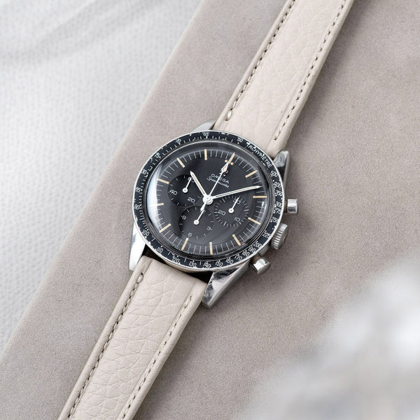 Incoming Taurillon Creme Heritage Leather Watch Strap