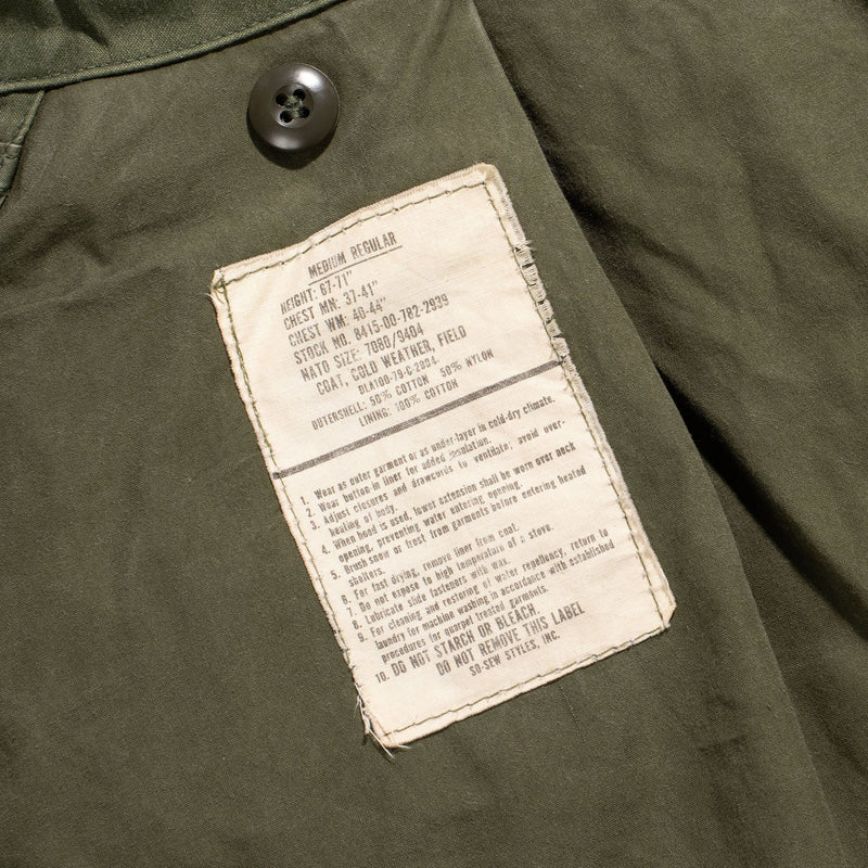VINTAGE 1979 INSCOM M-65 FIELD JACKET