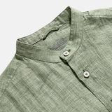 Van Laack Lemos Linen Shirt Green