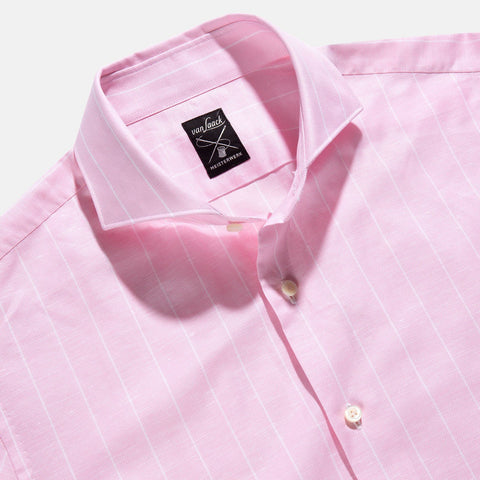 Van Laack Meso Business Shirt Pink