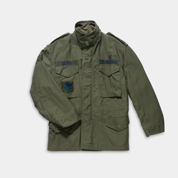 VINTAGE 1976 AIR FORCE M-65 FIELD JACKET