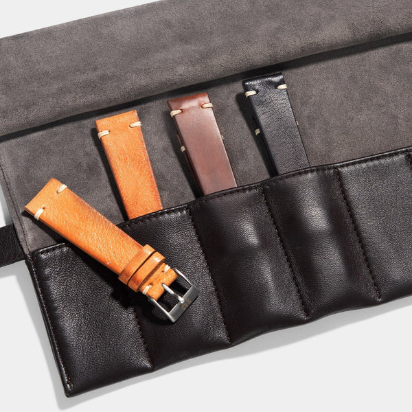Vintage 3 Leather Watch Strap Set