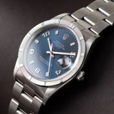 Rolex Date Reference 15010 Blue Dial Arabic Numerals