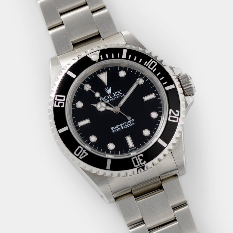 Rolex Submariner Swiss Only Dial Reference 14060 on 93150 Oyster bracelet