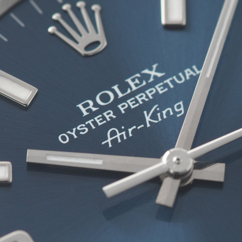 Rolex Air King Reference 14010 Blue Explorer Dial