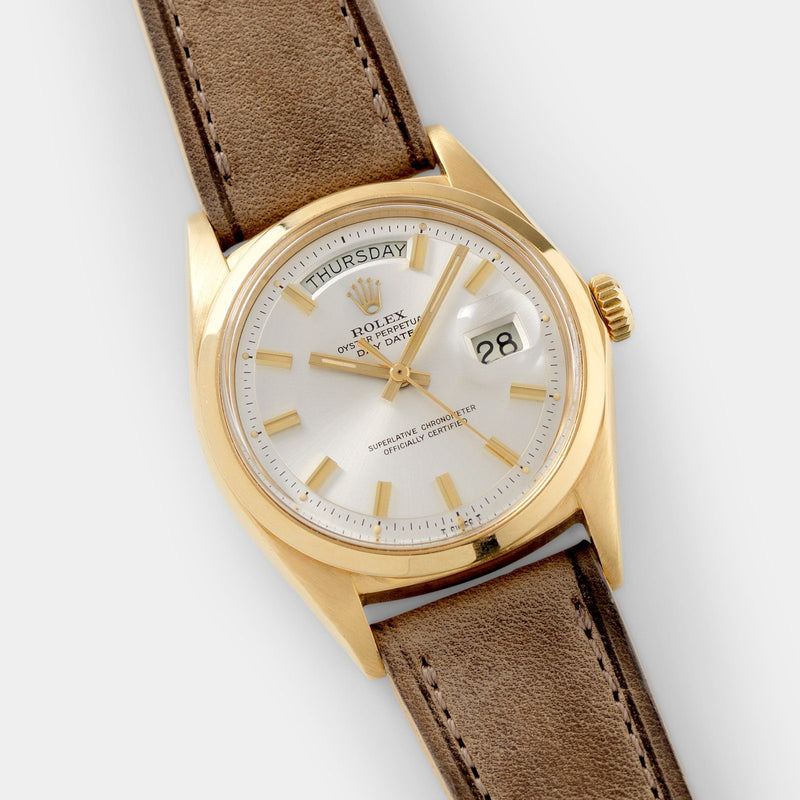Rolex Day-Date Yellow Gold Wide Boy Dial 1802