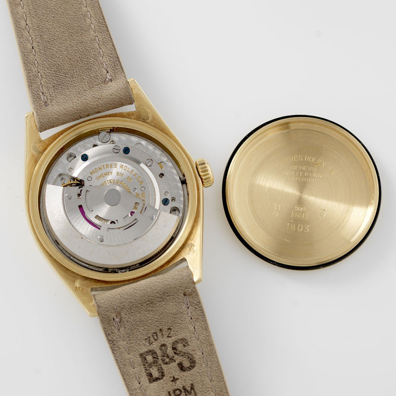Rolex Day-Date Yellow Gold Wide Boy Dial 1802 movement