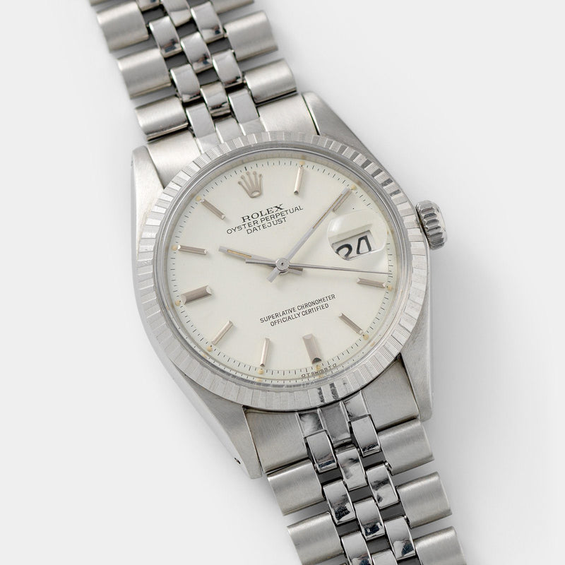 Rolex Datejust White Sigma Dial 1603 36mm steel case