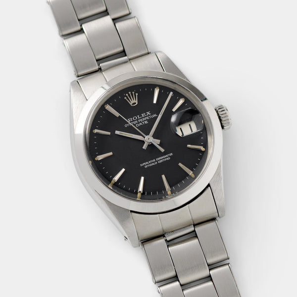 Rolex Date Reference 1500 Grey Dial