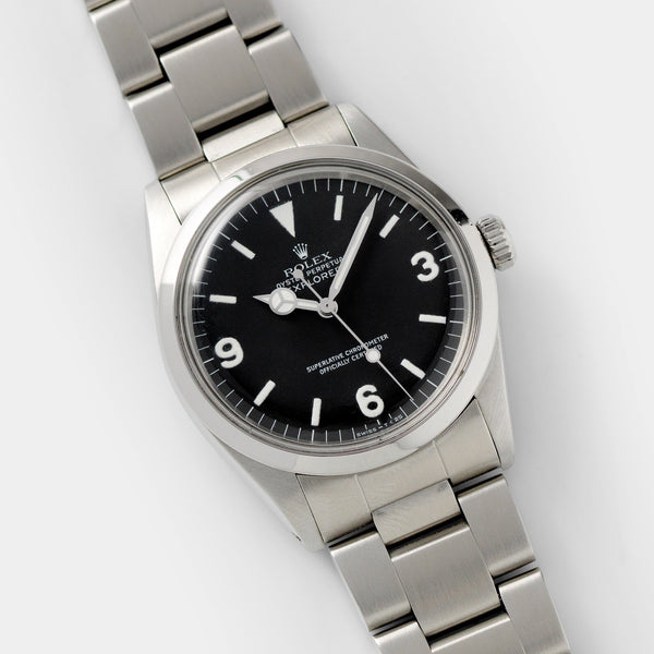 Rolex Explorer Reference 1016 L-Serial with Mk3 matte dial
