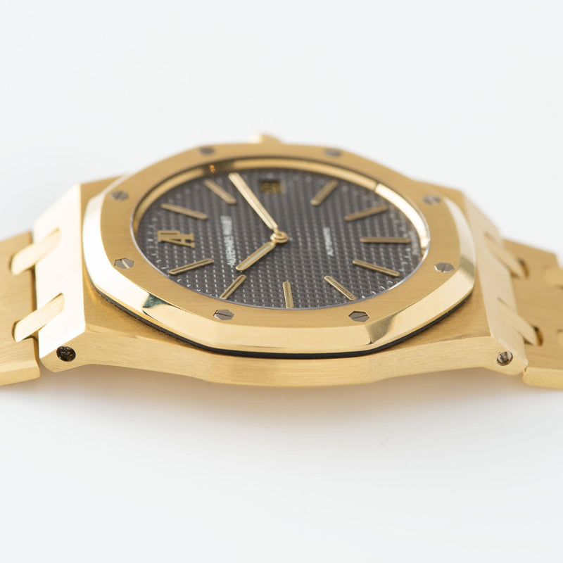 Audemars Piguet Jumbo Royal Oak 39mm Yellow Gold 5402 Box and Papers