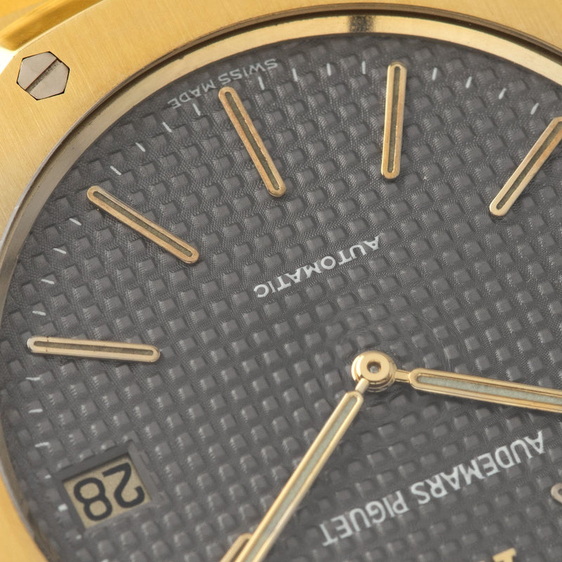 Audemars Piguet Jumbo Royal Oak Yellow Gold 5402 Box and Papers