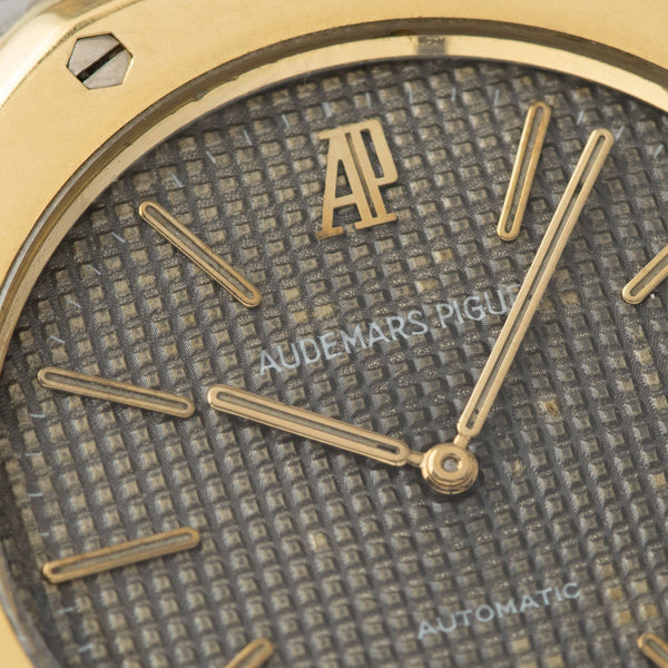 Audemars Piguet Jumbo Royal Oak Steel and  Gold ref.5402SA