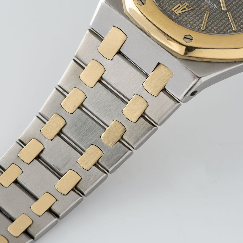 Audemars Piguet Jumbo Royal Oak Steel and  Gold ref.5402SA with  Steel and gold integrated bracelet