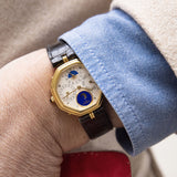 "Gerald Genta ""Succes ""Day Date Moon Phase Ref 2747 Complication wristwatch"