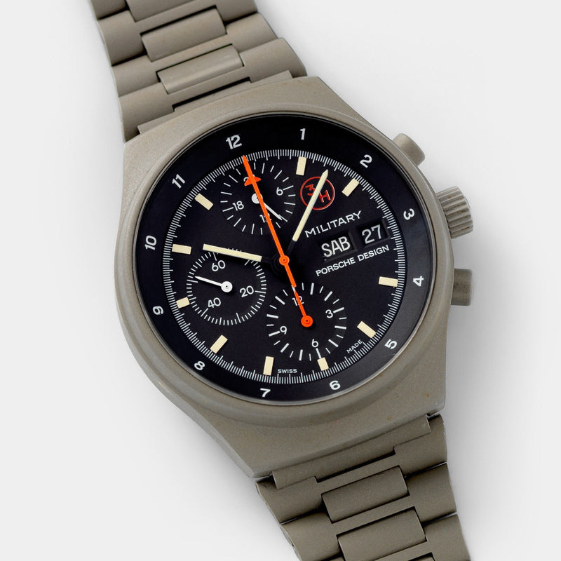 Porsche Design by Orfina 'Military' Chronograph Reference 7177 with green PVD coating