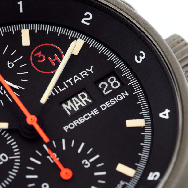 Porsche Design by Orfina 'Military' Chronograph Reference 7177 with day and date windows