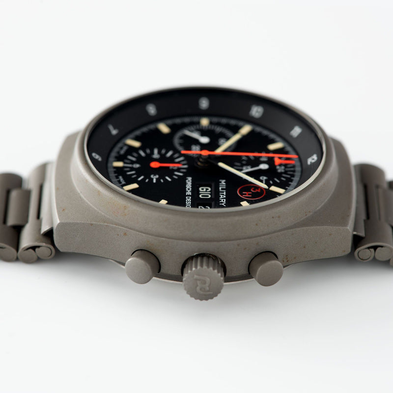 Porsche Design by Orfina 'Military' Chronograph Reference 7177 42mm steel case