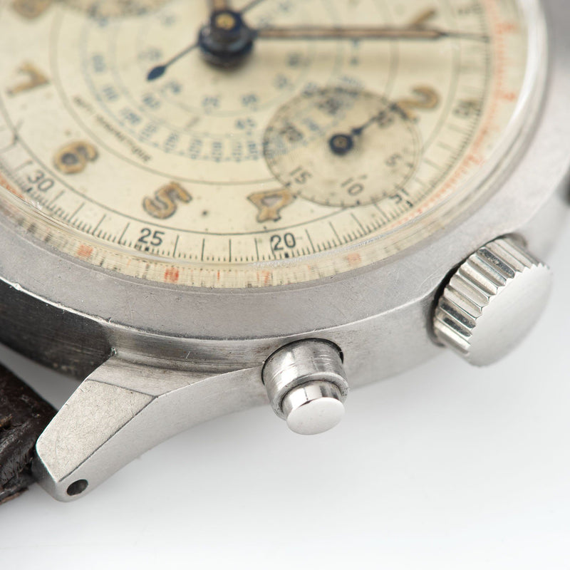 Doxa Multi Scale Steel Spillman Case Chronograph