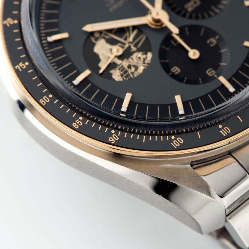 Omega Speedmaster Apollo 11 50th Anniversary Limited Edition with Moonshine gold bezel