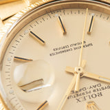 Rolex Day-Date Champagne pie pan dial Dial Yellow Gold 1807