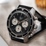 Heuer Autavia 2446 Reverse Panda Dial Dates to the late 1960s