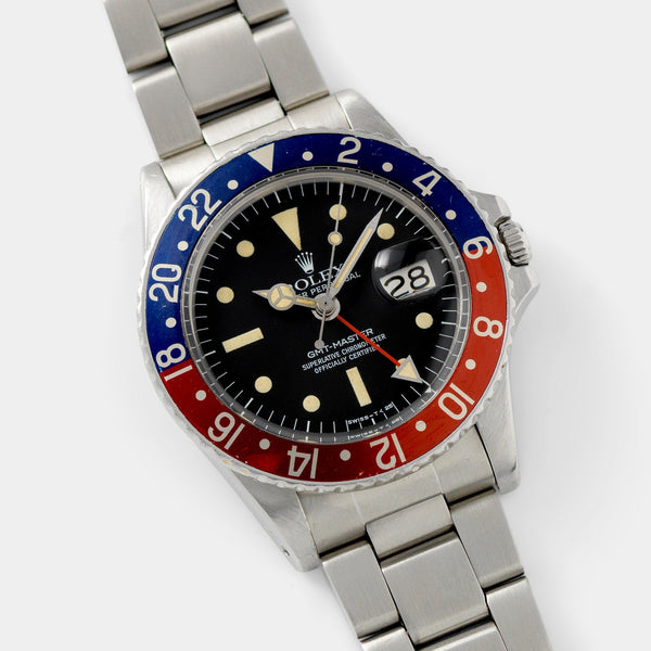 Rolex 1675 Mk3 Radial Dial GMT Master 40mm steel case