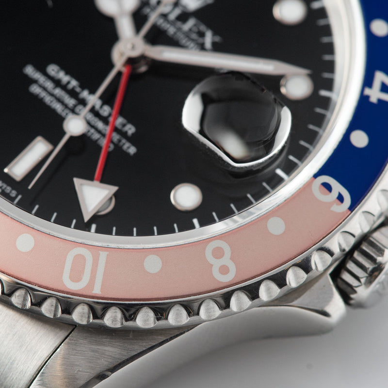 Rolex GMT-Master 16700 Pepsi Swiss Only Dial