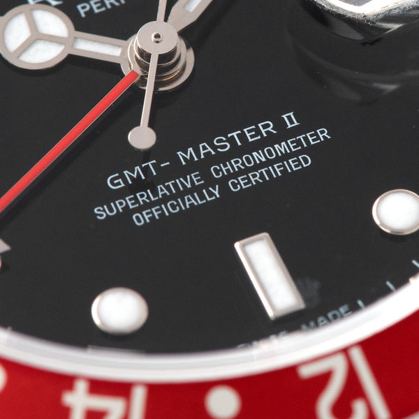 Rolex GMT-Master 2 16710  Rectangular dial Box and Papers