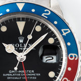 Rolex 1675 Mk1 Long E GMT Master with Gently faded insert