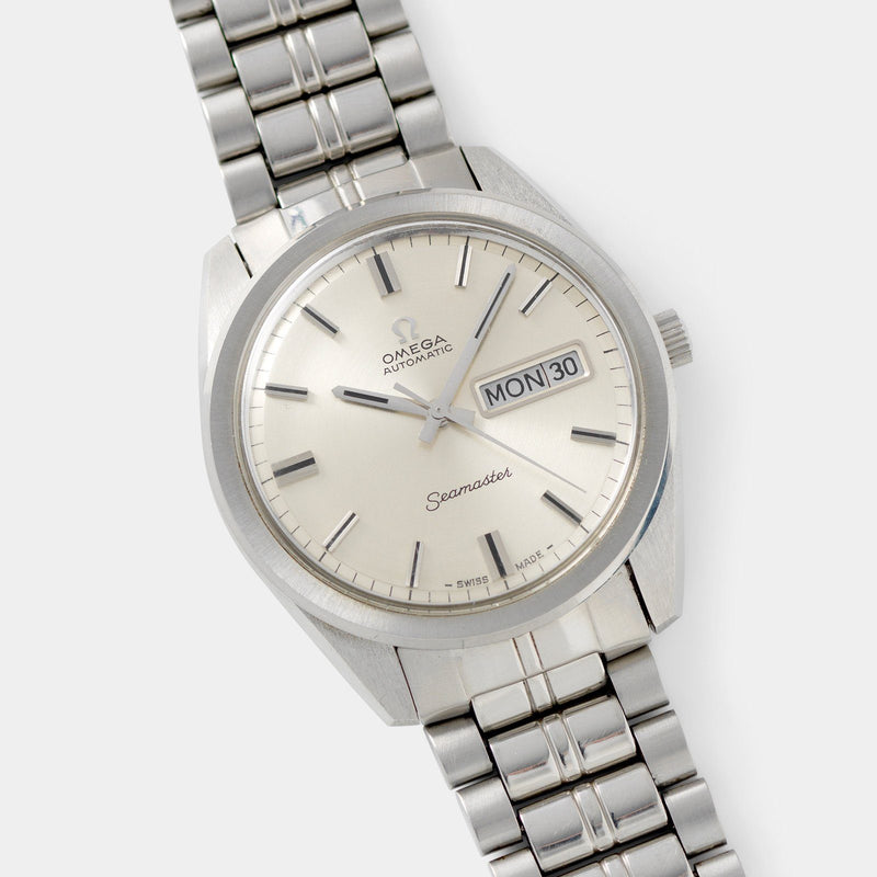 Omega Seamaster Dress Watch Ref 166 032 pie-pan dial