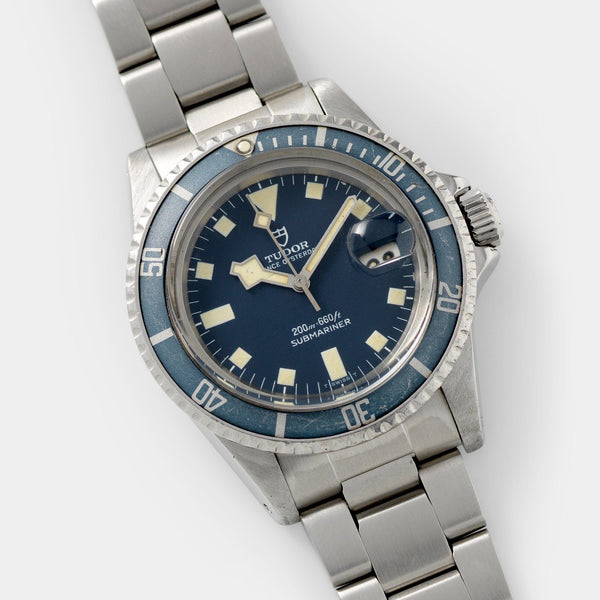 Tudor Submariner Date Blue Snowflake 9411/0  40mm steel case