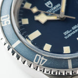 Tudor Submariner Date Blue Snowflake 9411/0  Faded blue insert