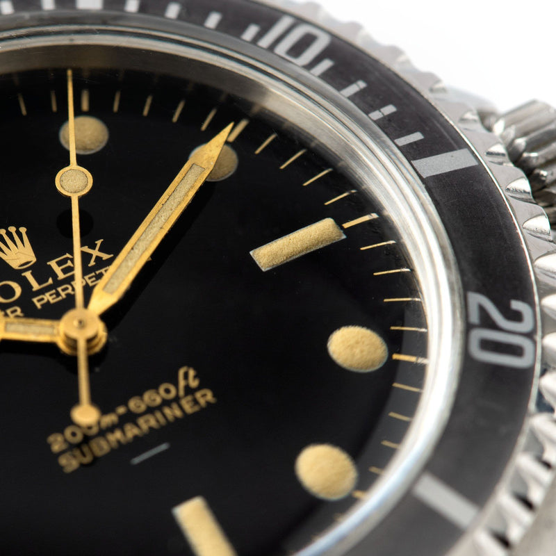 Rolex Submariner 5513 Gilt  Glossy Underline Dial