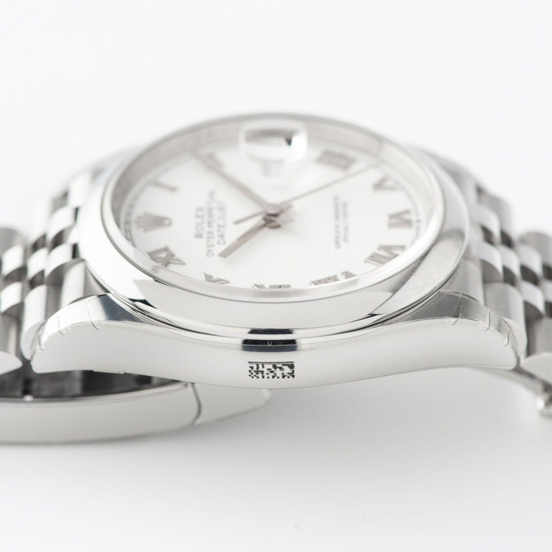 Rolex Datejust White Dial 126200