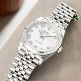 Rolex Datejust White Dial 126200 with Smooth bezel