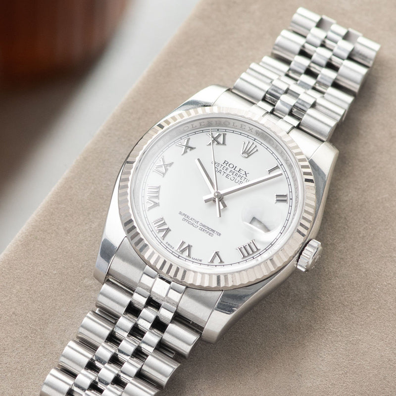 Rolex Datejust White Dial 116234 2014