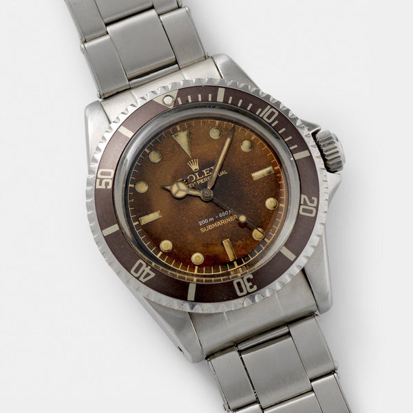 Rolex Submariner 5512 Gilt Tropical Dial 40mm steel case