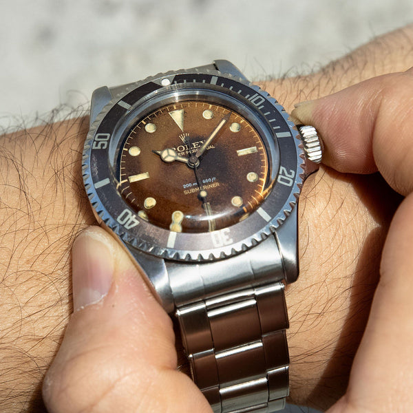 Rolex Submariner 5512 Gilt Tropical Dial