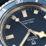 Tudor Marine Nationale MN78 Submariner 9401 with Provenance/Ledgers dial detail snowflake