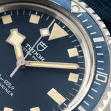 Tudor Marine Nationale MN78 Submariner 9401 with Provenance/Ledgers snowflake hands