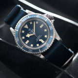 Tudor Marine Nationale MN78 Submariner 9401 with Provenance/Ledgers