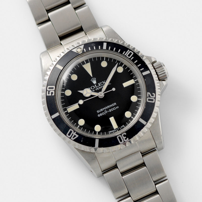 Rolex Submariner Mk 2 Maxi Dial 5513 Steel 40mm case