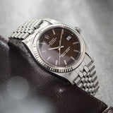 Rolex Datejust Tropical Dial Reference 1601 Box and Papers