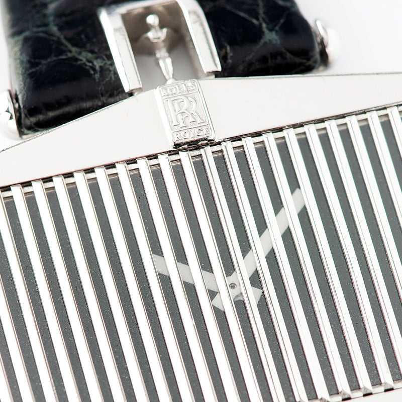 Corum White Gold Rolls Royce Ref 55585 Radiator Grill case