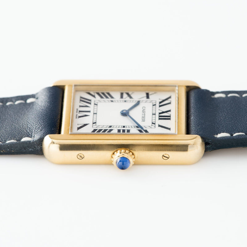 Cartier Tank Solo 18kt Gold Reference 2743